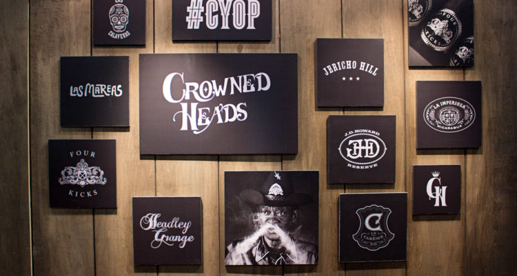 Crowned Heads cigar booth IPCPR 2016