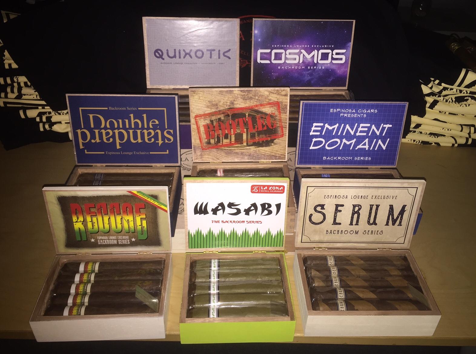 Espinosa new Backroom Series cigars 2016