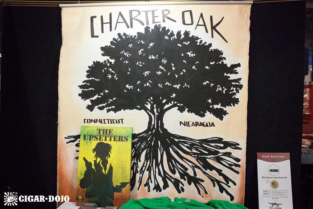 Foundation Cigar Co Charter Oak artwork