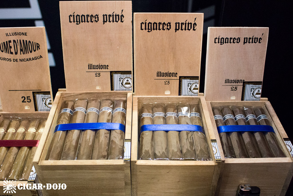Illusione Cigares Prive cigars IPCPR 2016