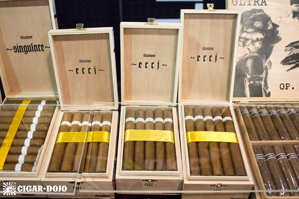 Illusione ~eccj~ cigar presentation IPCPR 2016