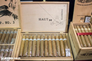Illusione Haut 10 cigar box open IPCPR 2016