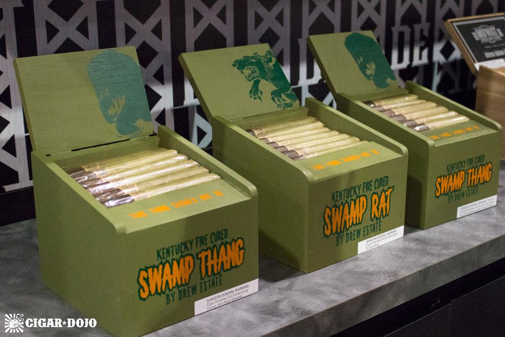 MUWAT Kentucky Fire Cured Swamp Thang cigars IPCPR 2016