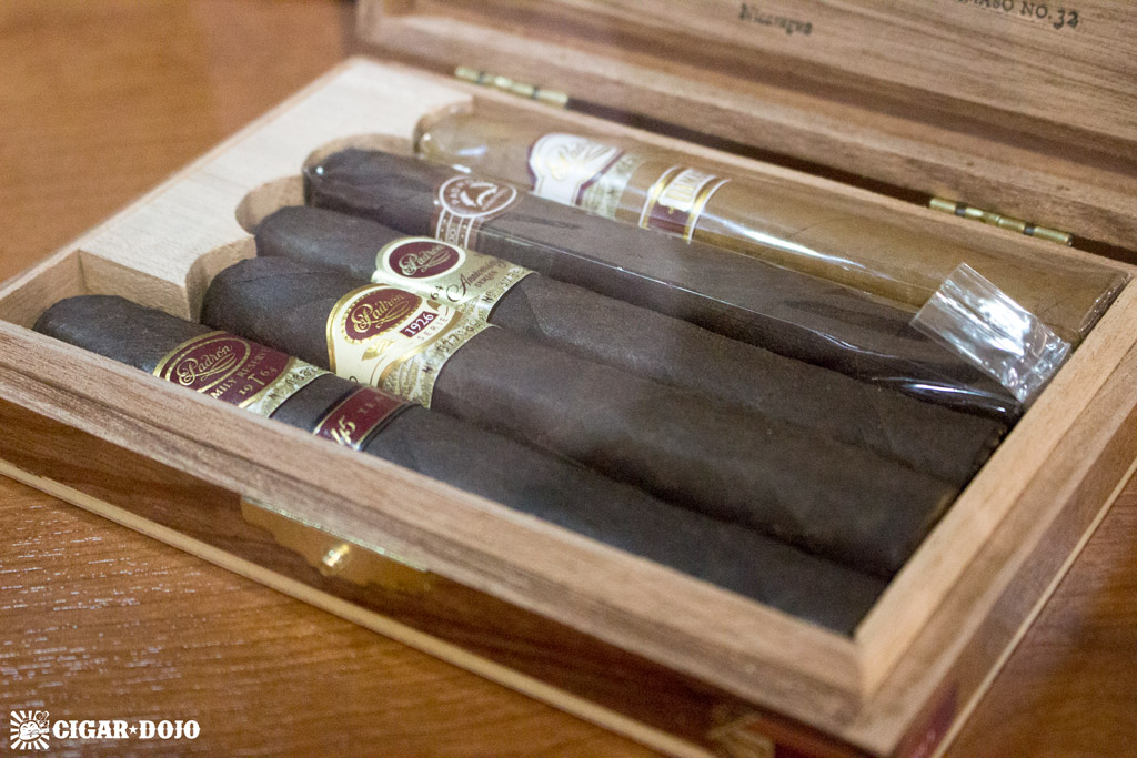 Padrón Collection cigar sampler box IPCPR 2016