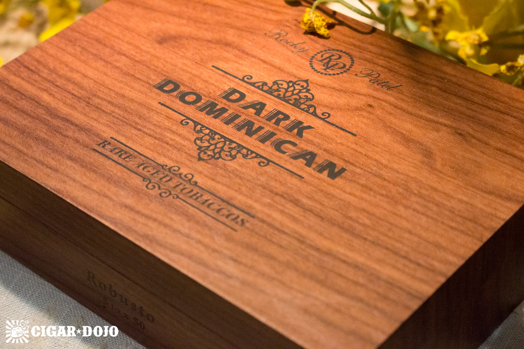 Rocky Patel Dark Dominican cigar box IPCPR 2016