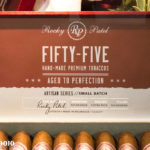 Rocky Patel Fifty-Five cigar box open IPCPR 2016