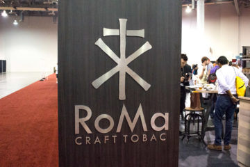 RoMa Craft Tobac cigar booth IPCPR 2016