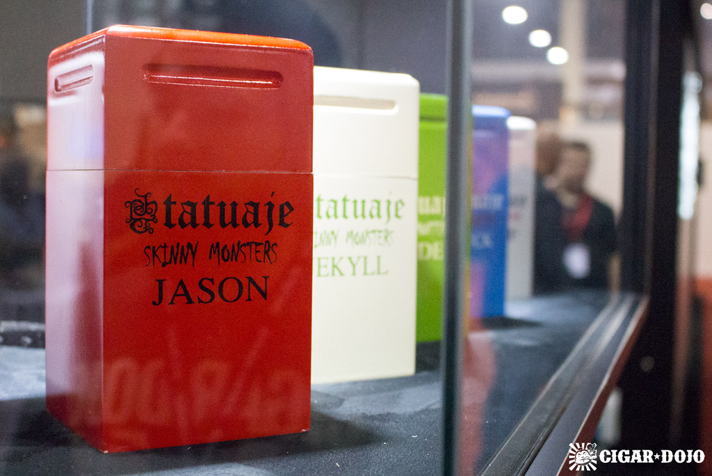 Tatuaje Skinny Monsters 25-count boxes IPCPR 2016