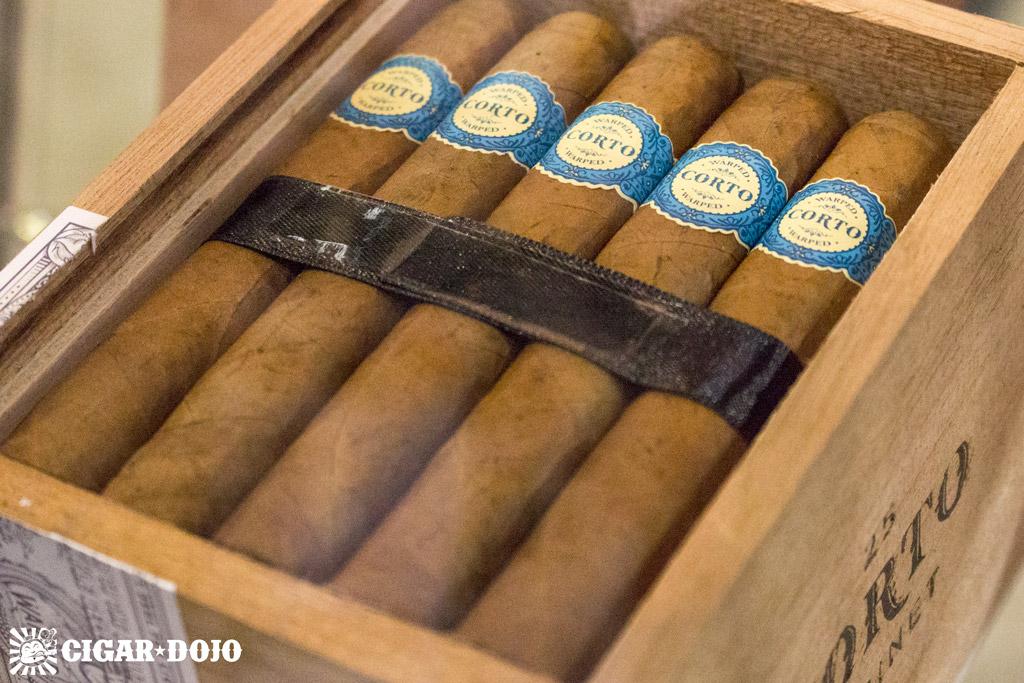 Warped Corto X46 cigars IPCPR 2016