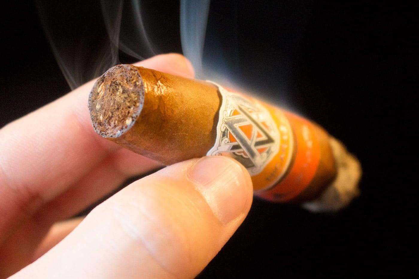 AVO Syncro Nicaragua Fogata Short Torpedo cigar review