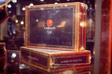 E.P. Carrillo Cigars booth IPCPR 2016