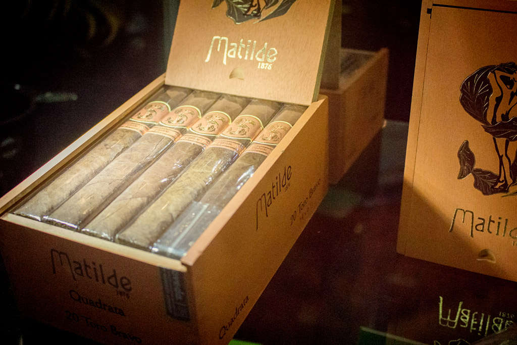 Matilde Cigars booth IPCPR 2016
