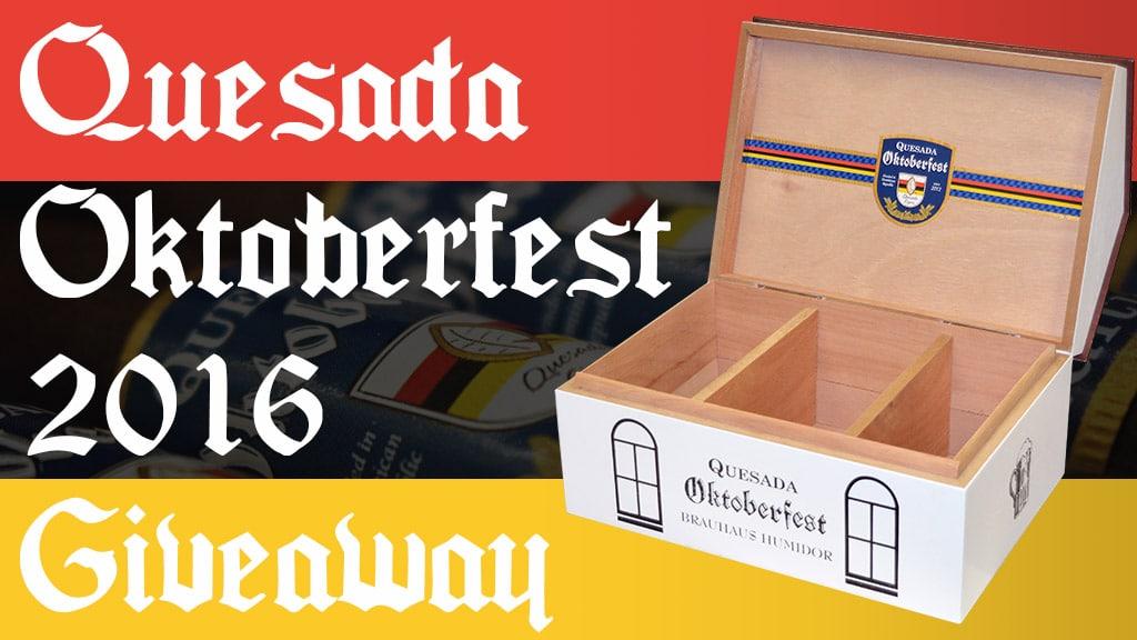 Quesada Oktoberfest 2016 cigar giveaway