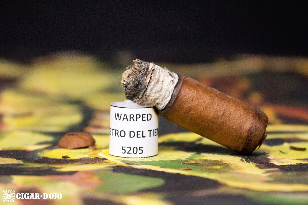 Warped Maestro del Tiempo 5205 cigar review and rating