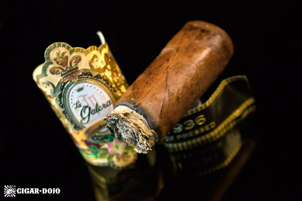 La Galera 1936 Box Pressed Pegador cigar review and rating