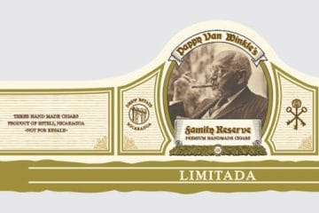 Drew Estate Pappy Van Winkle Limitada cigar band