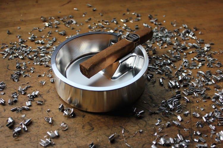 """Boyd Motor Company """"Denver"""" Billet Cigar Ashtray"""