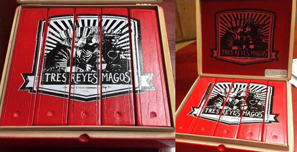 Gran Habano Los Tres Reyes Magos culebra cigars packaging