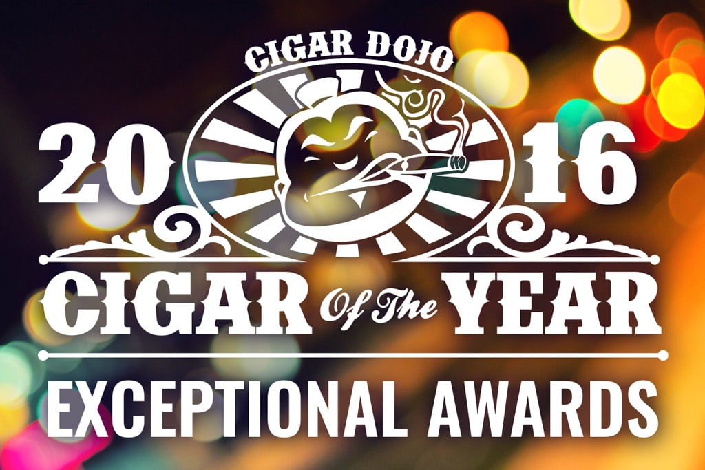 Cigar Dojo 2016 Exceptional Cigar Awards