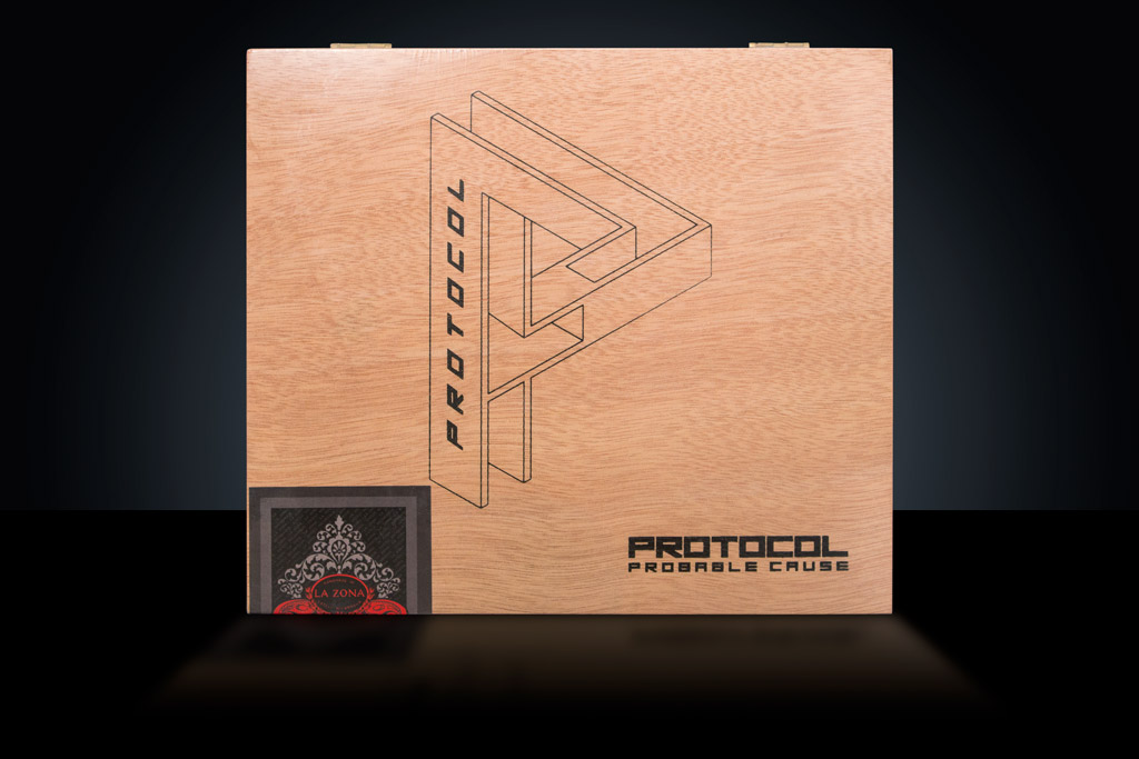 Cubariqueño Protocol Probable Cause cigar box