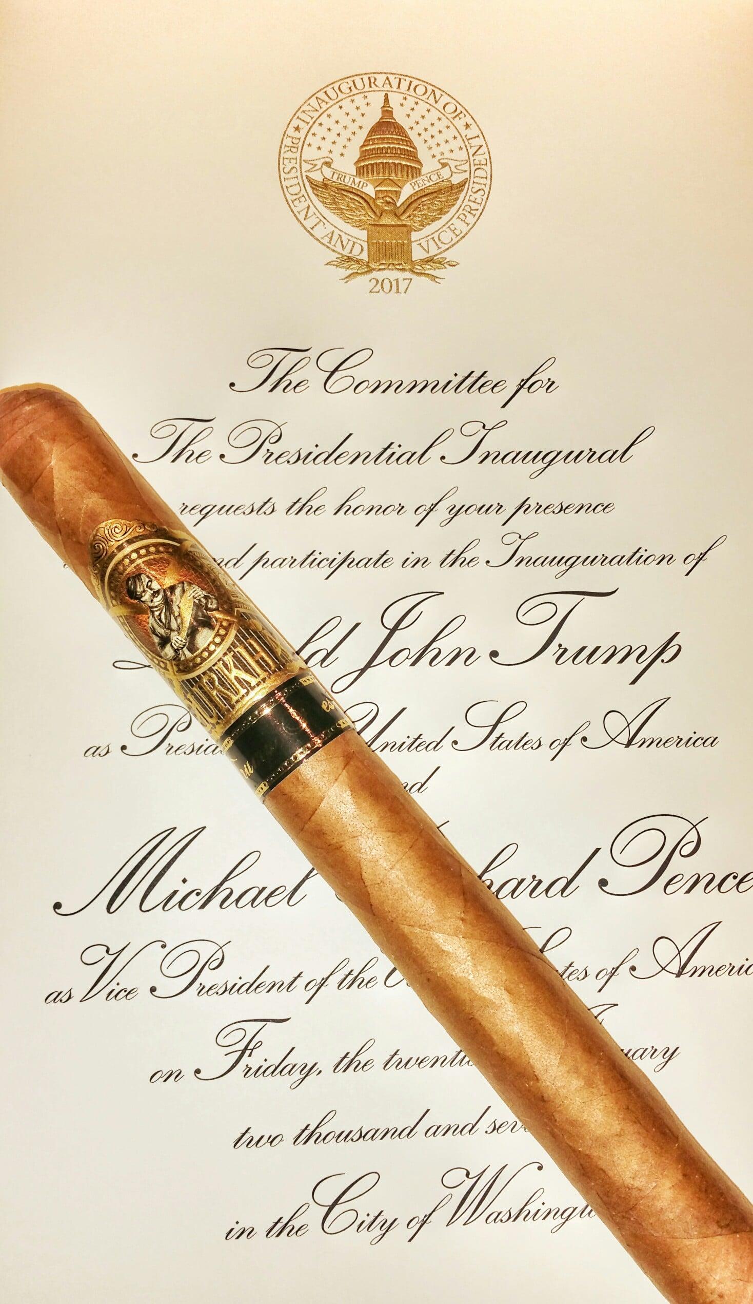 Gurkha Trump Presidente limited edition cigar