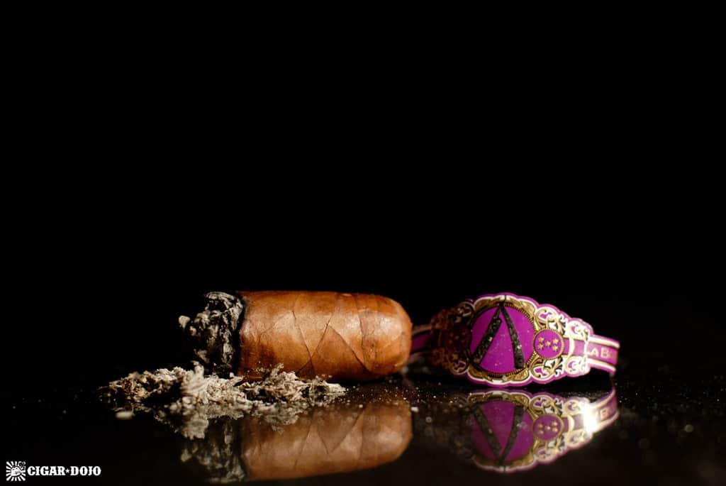 La Barba Purple robusto cigar review and rating