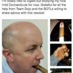 justrob Cigar Dojo contest winner