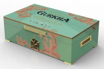 Gurkha Limited Edition Royal Humidor green