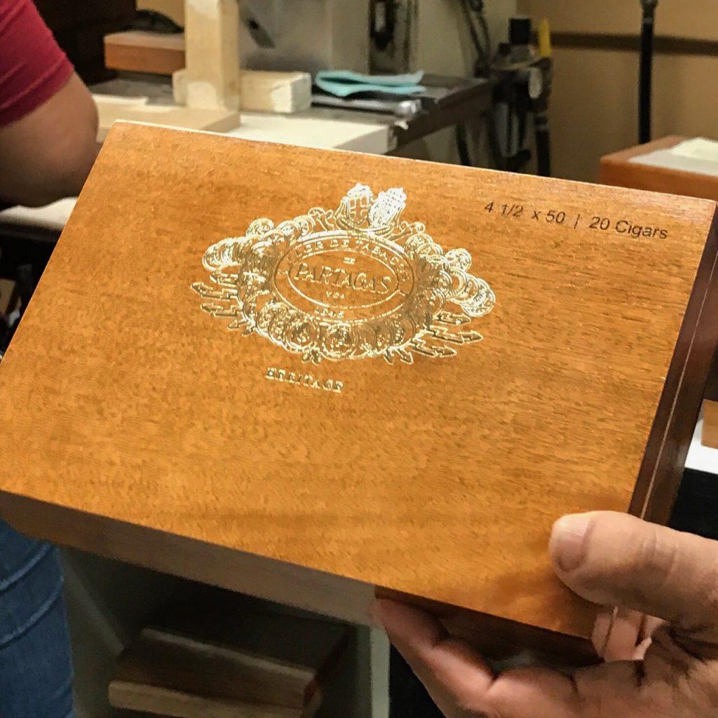 Partagas Heritage cigar box