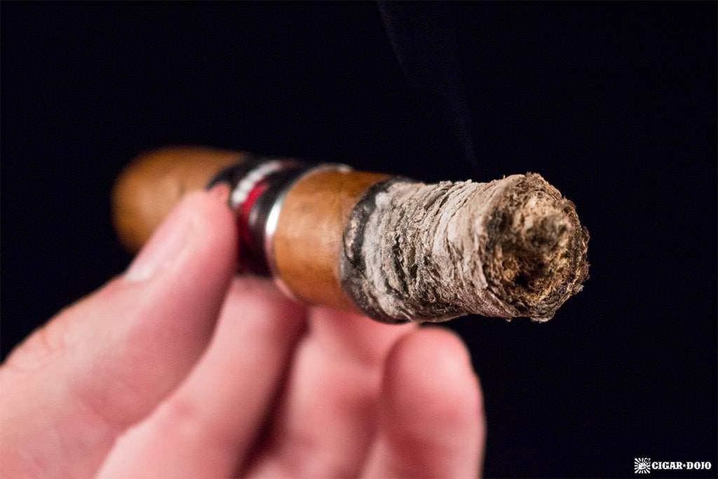 Nomad Martial Law Toro cigar smoking