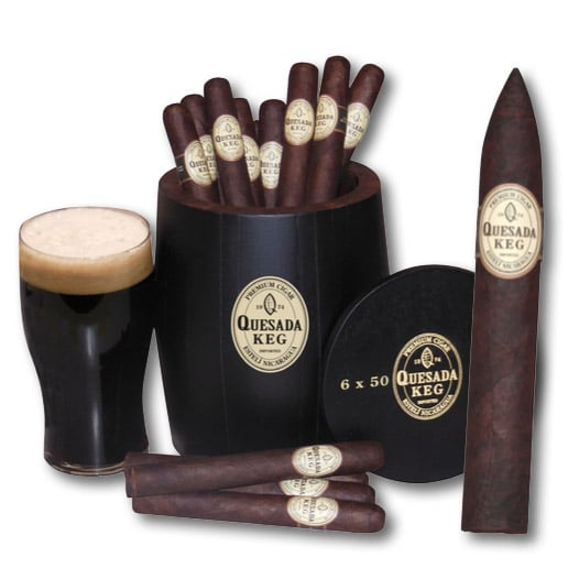 Quesada Keg 2017 cigar release