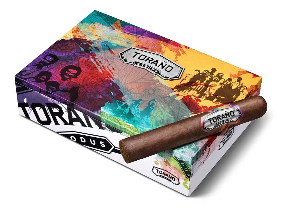 Toraño Exodus cigar packaging