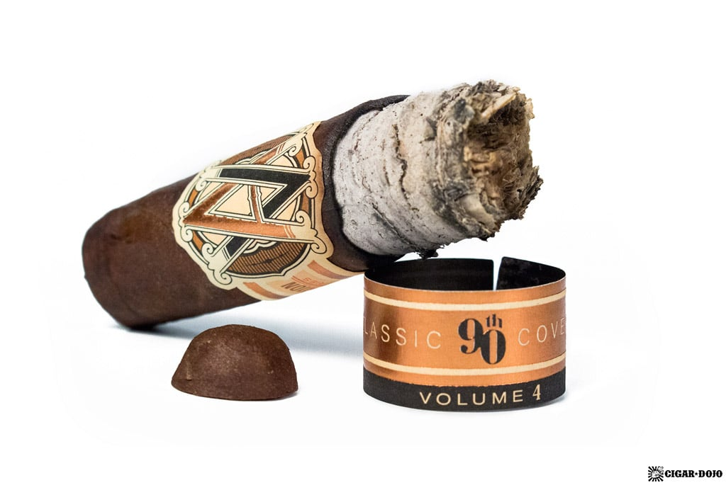 AVO 90th Classic Covers Volume 4 cigar review and rating