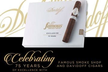 Davidoff Famous 75th Anniversary cigar announcement