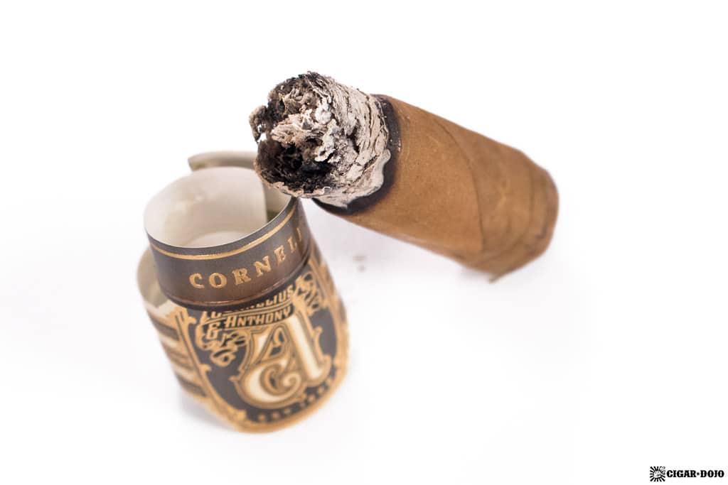 Cornelius Corona Gorda cigar nubbed