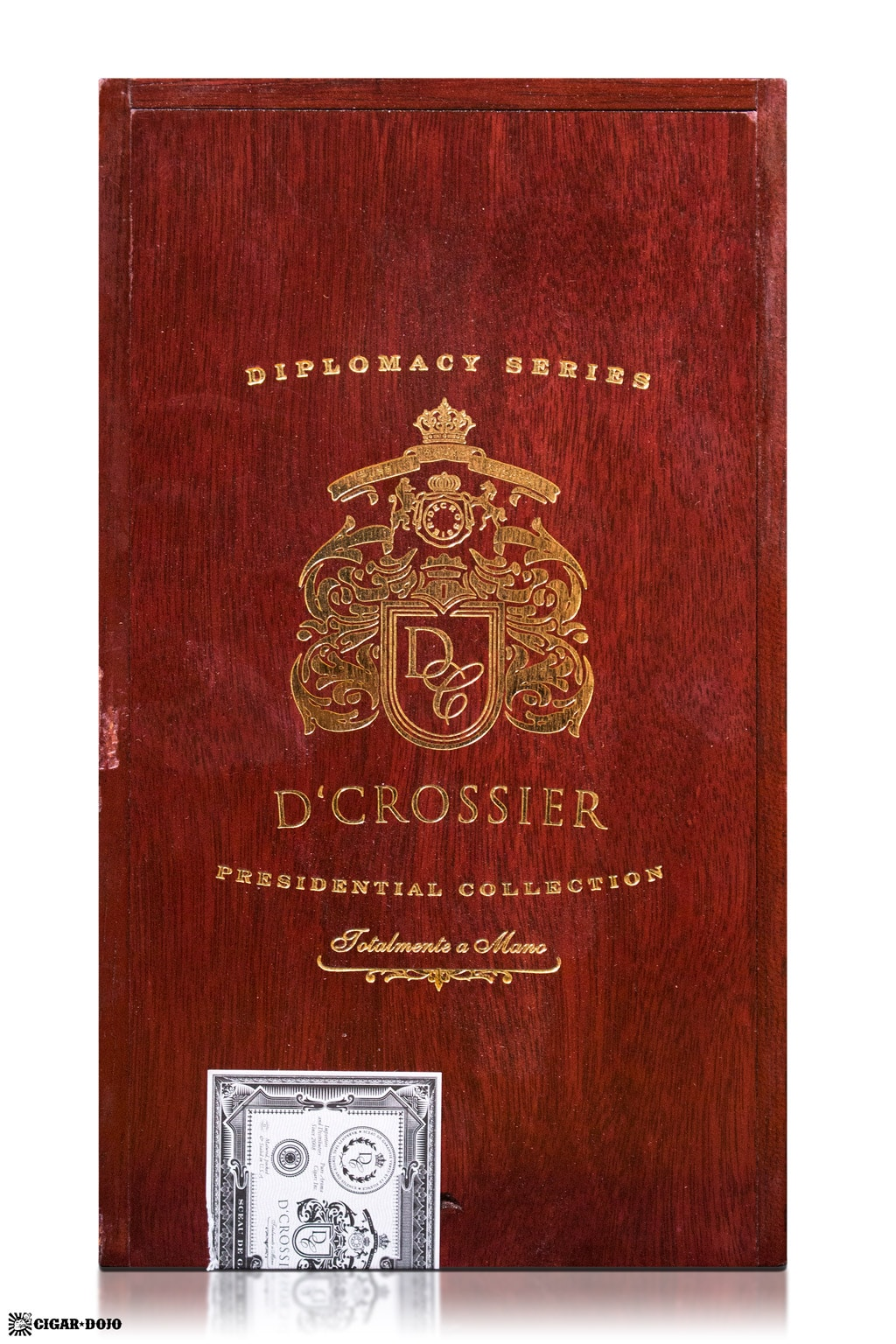 D'Crossier Diplomacy Series cigar box