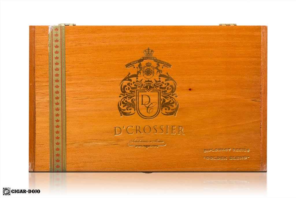 D'Crossier Golden Blend Aged 10 Years cigar box