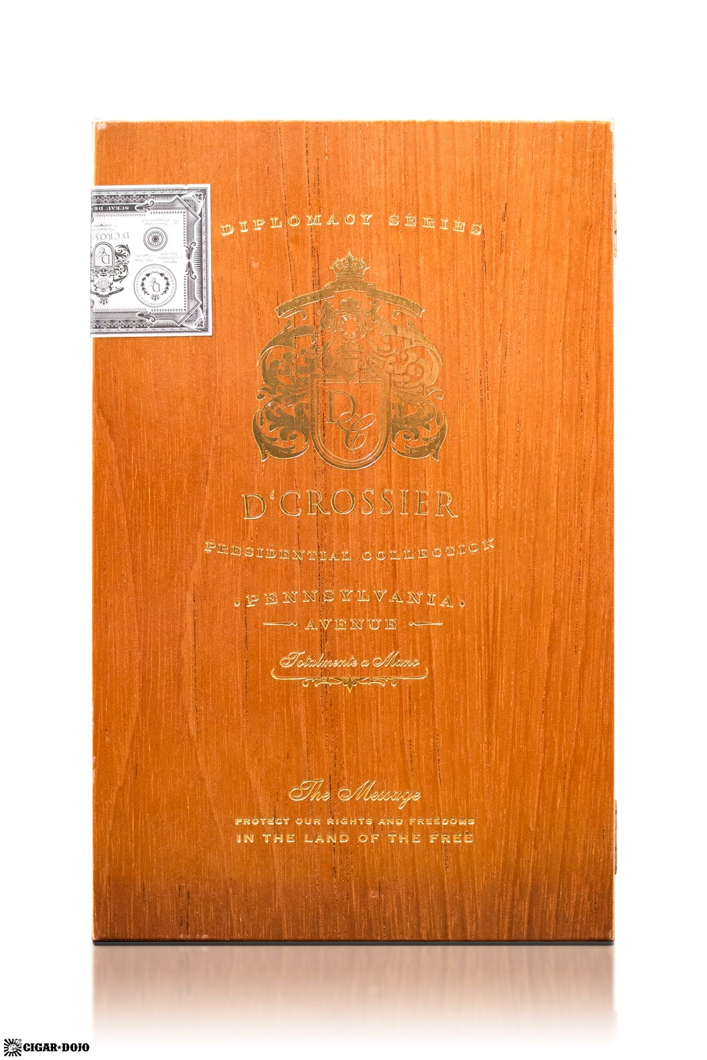 D'Crossier Pennsylvania Avenue cigar box