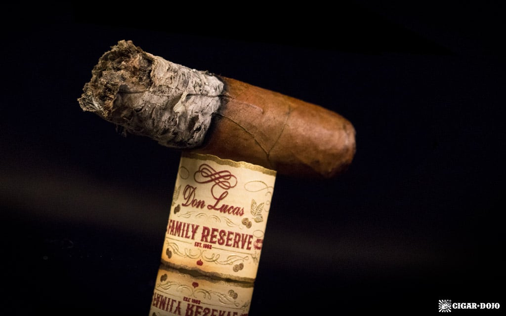 Don Lucas Family Reserve Natural cigar nubbed