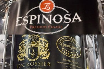 Espinosa and D'Crossier cigars