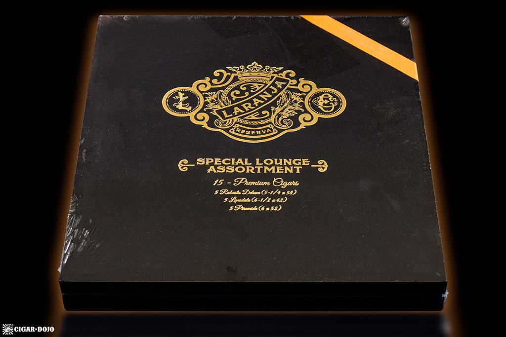 Espinosa Laranja Special Lounge Assortment cigar box