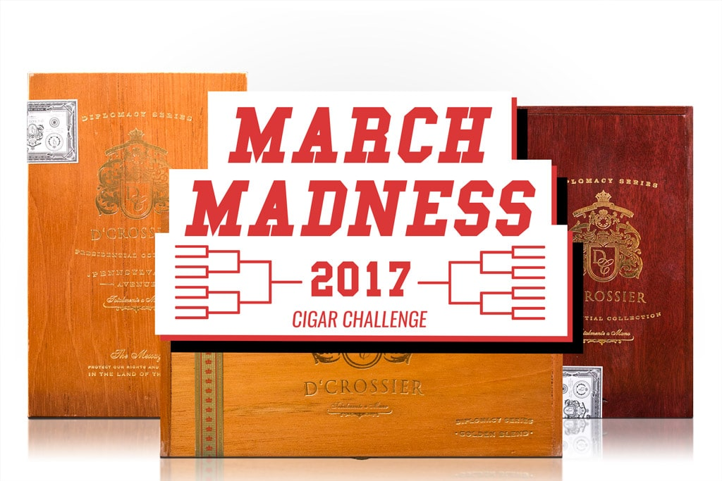 March Madness Cigar Bracket Challenge 2017