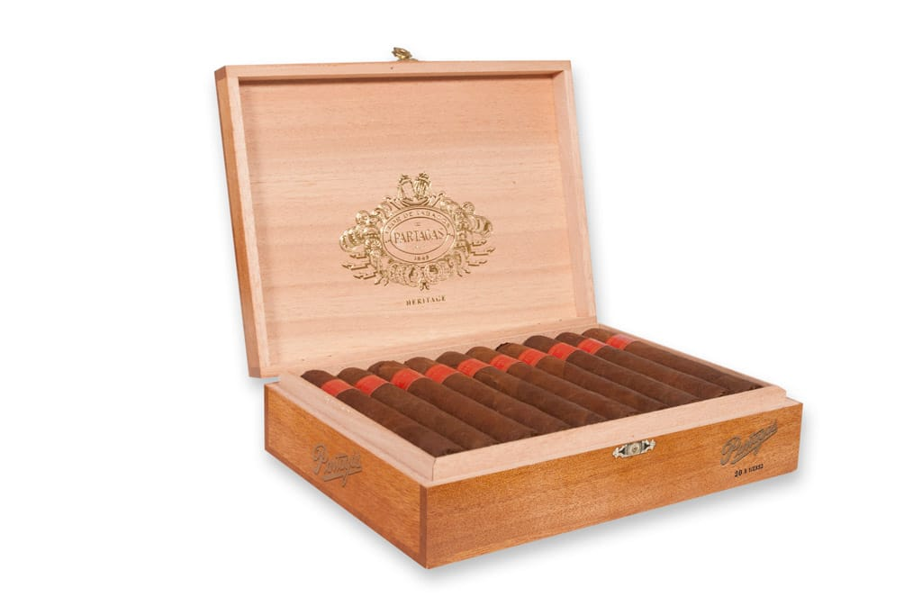 Partagas Heritage cigar packaging