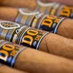 Quesada Dojo de Luxe cigars close up