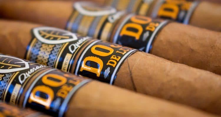 Quesada Dojo de Luxe cigars close up