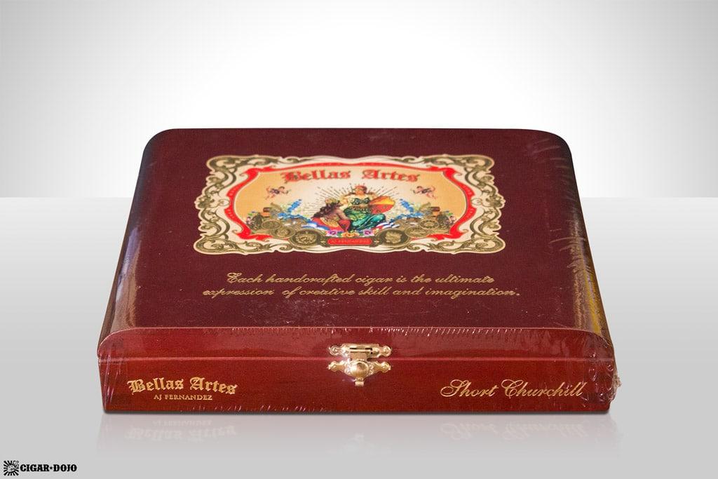 AJ Fernandez Bellas Artes Short Churchill box of cigars