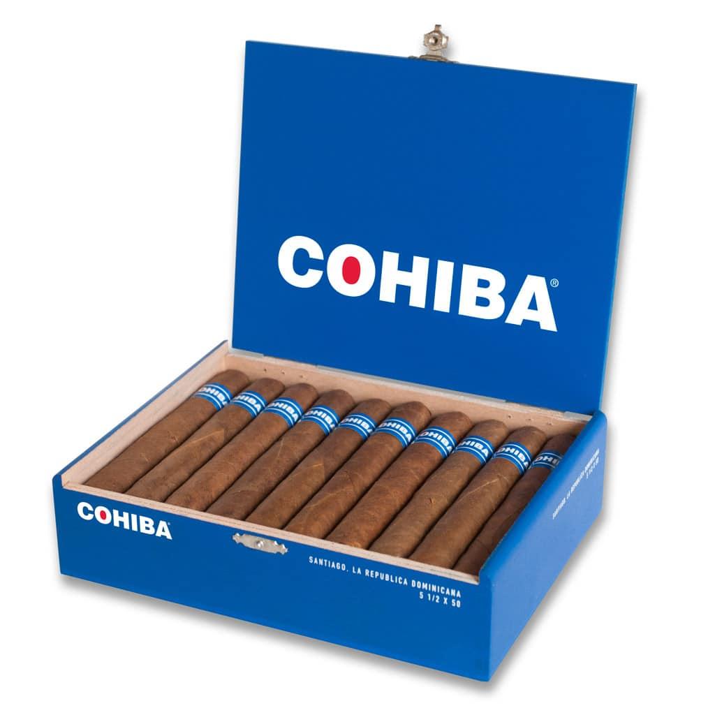 Cohiba Blue box of cigars