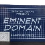 Espinosa Backroom Series Eminent Domain cigar box front