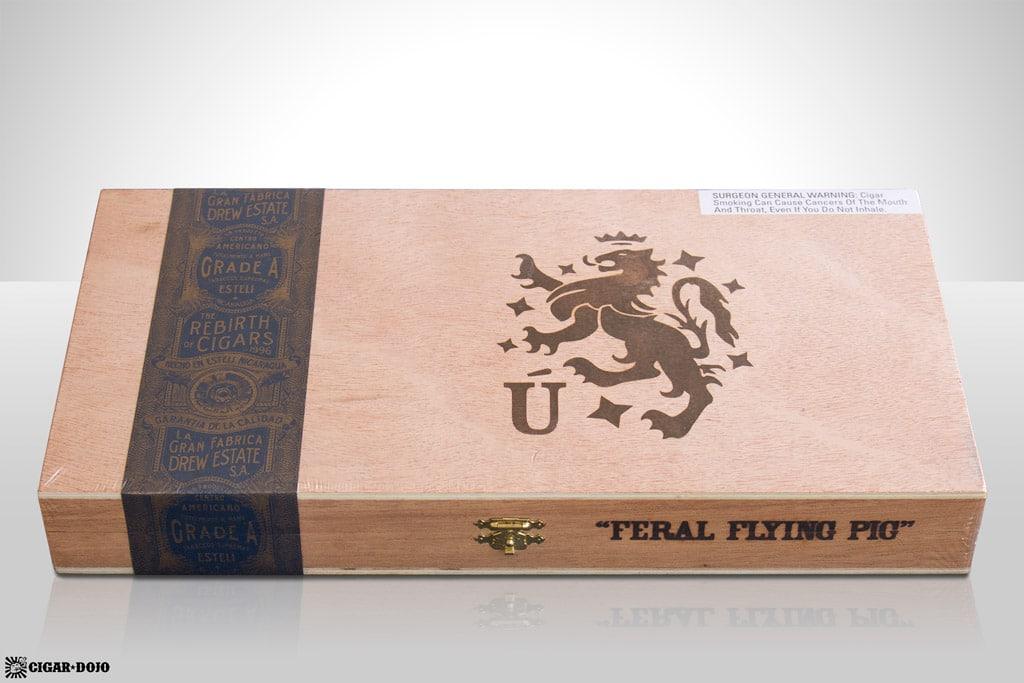 Drew Estate Liga Privada Unico Serie Feral Flying Pig box cigars