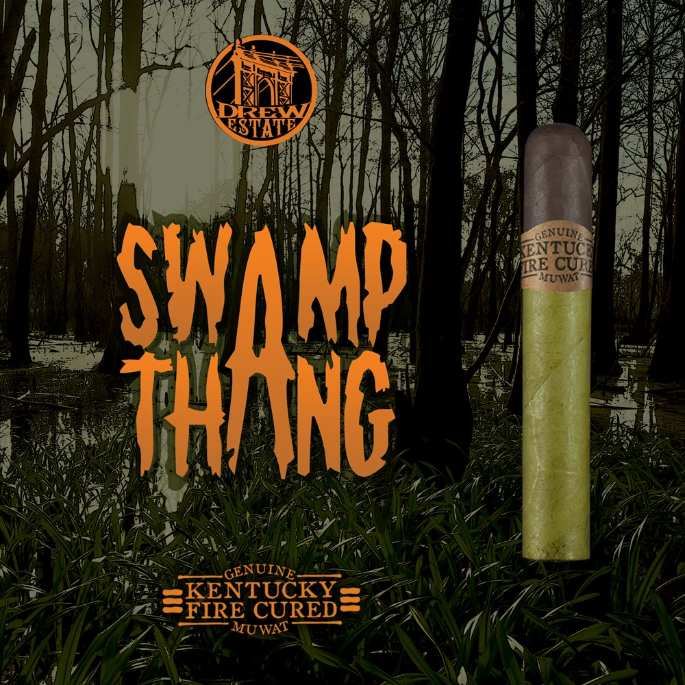 Drew Estate Swamp Thang cigar poster